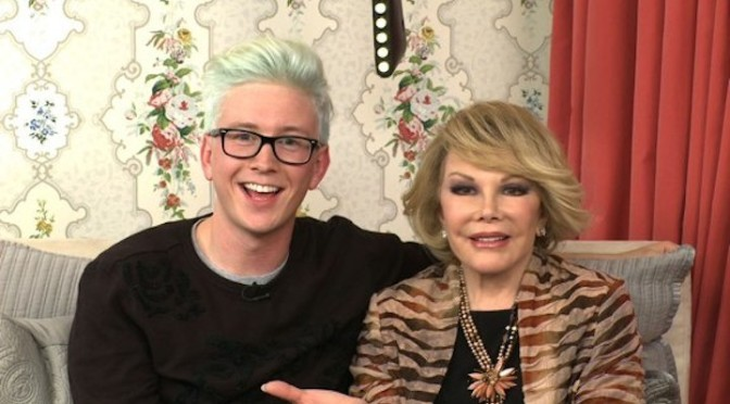 In Bed with Joan – Episode 70: Tyler Oakley