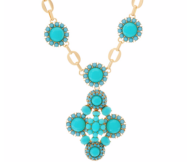 """Moroccan Dreams Pendant Necklace with 3"""" Extender"""