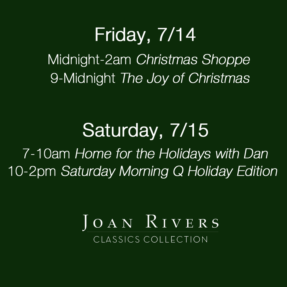 Christmas In July Qvc.Christmas In July Joan Rivers